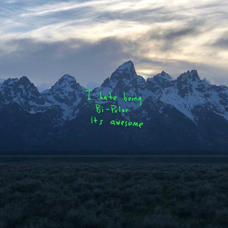 okładka płyty Ye Kanye Westa z 2018 roku
